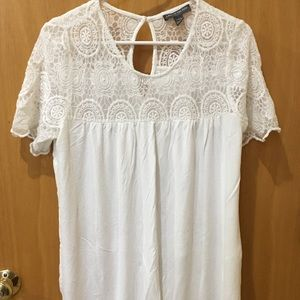 A Pea In The Pod white knit top size large